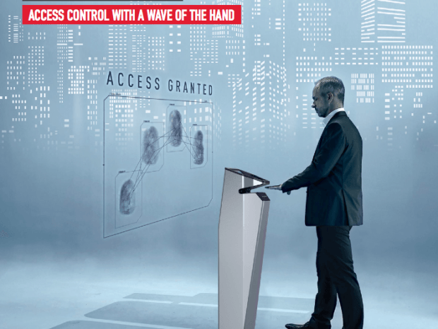 contactless biometric security innovations access control