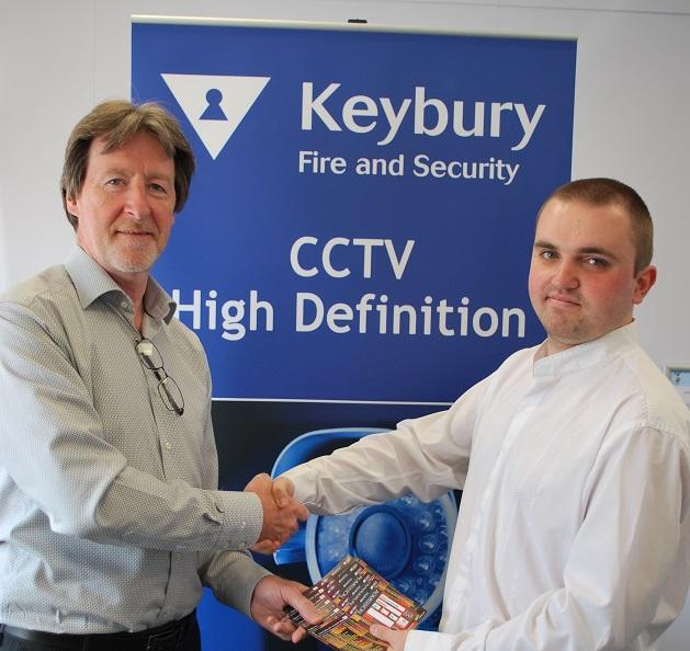 Keybury partner with Bradford City Football Club sponsorship 2015 2016