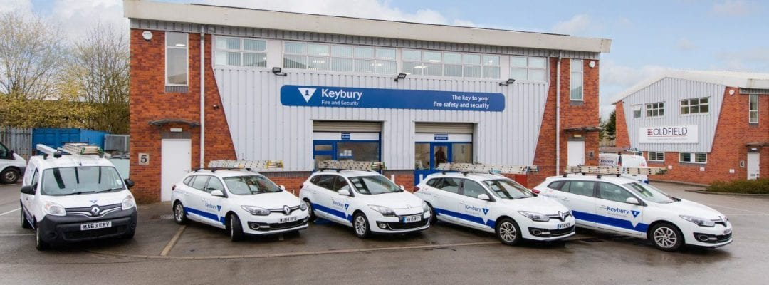 keybury office and cars