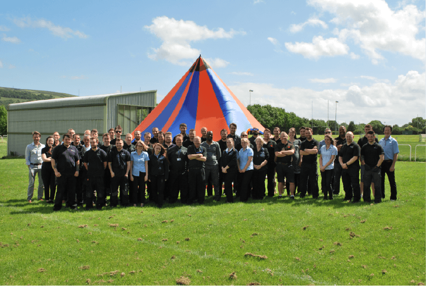 Keybury Fire and Security Team Day 2017