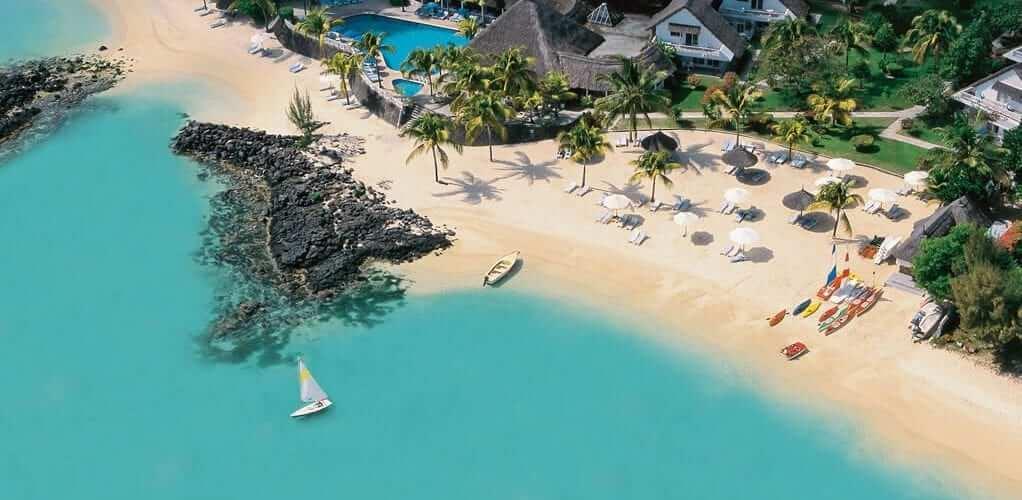 Merville Beach Hotel in Mauritius