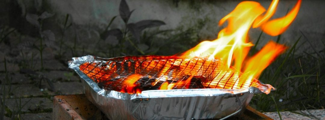 Disposable Barbecue