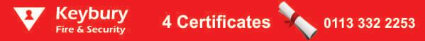 fire alarm leeds certificates