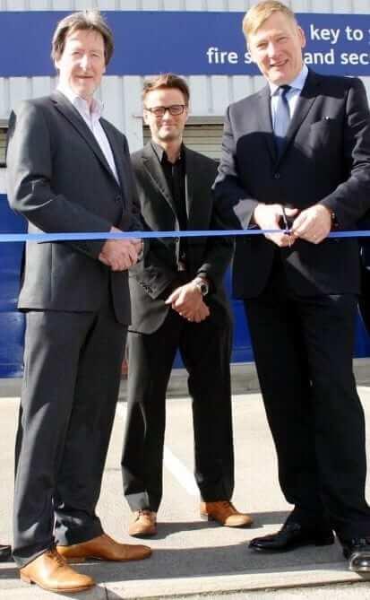 Keybury new premises Kris Hopkins opening
