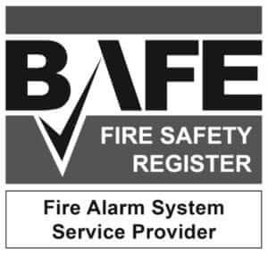 Keybury BAFE approved fire alarm system service provider.