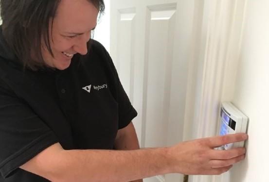 burglar alarm servicing
