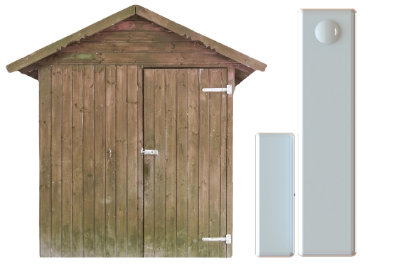 protect outbuildings wireless contact