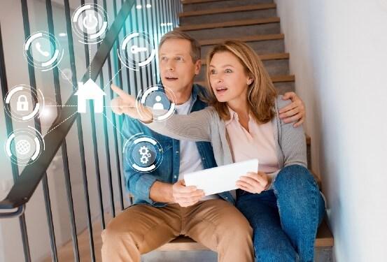 app monitored home burglar alarm