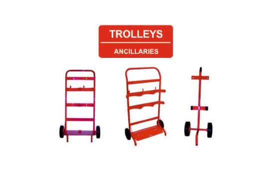 buy extinguisher trolleys