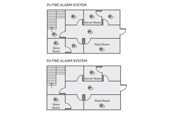 Category P fire alarm grade