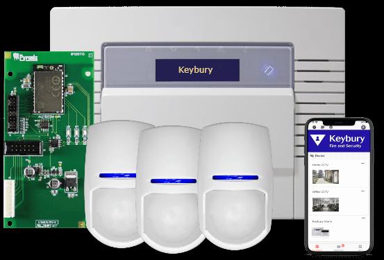 wireless business burglar alarm