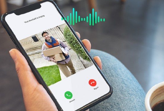 smart doorbell app