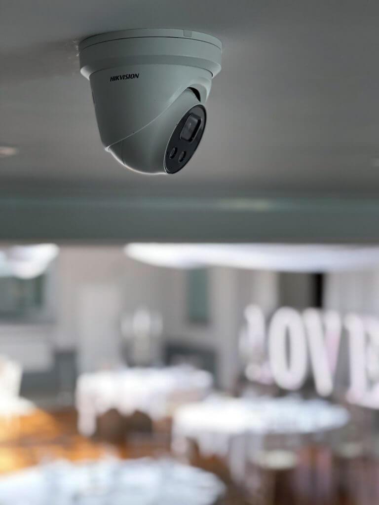 security cameras for wedding venues